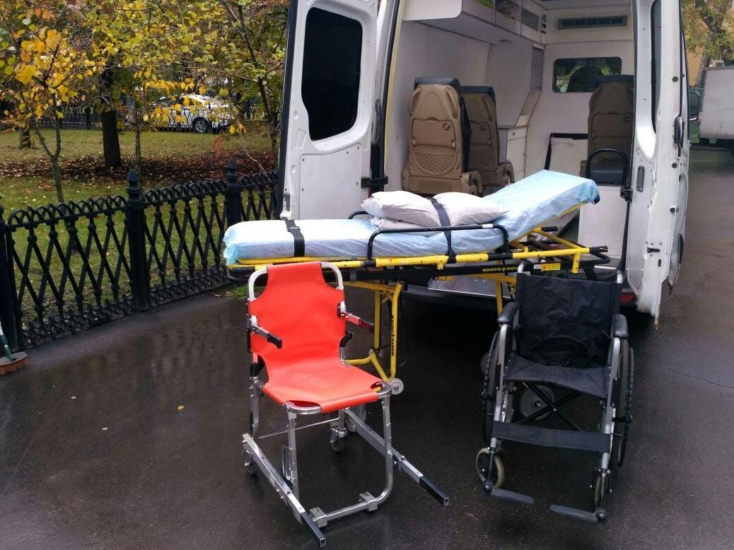 Услуги перевозки лежачих больных