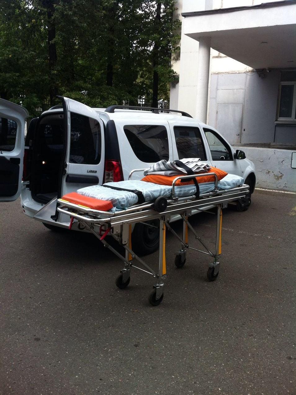 Перевозка лежачих больных 2