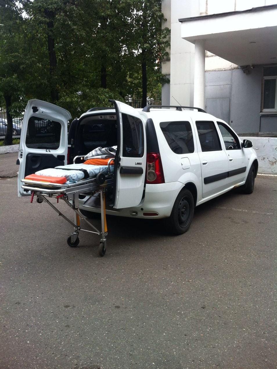 Перевозка лежачих больных 3