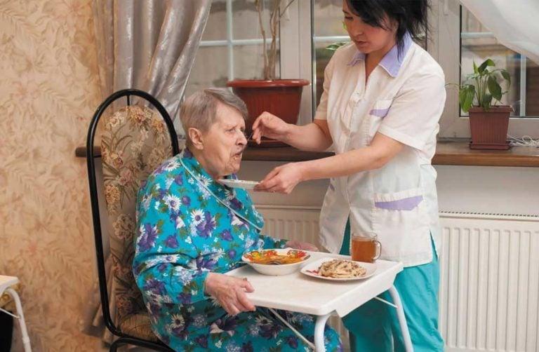 Дом престарелых для больных раком
