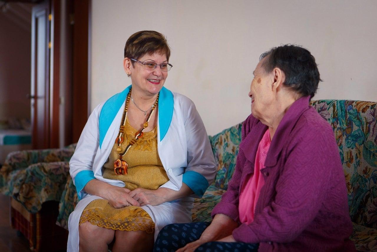 Пансионат для больных деменцией в Москве