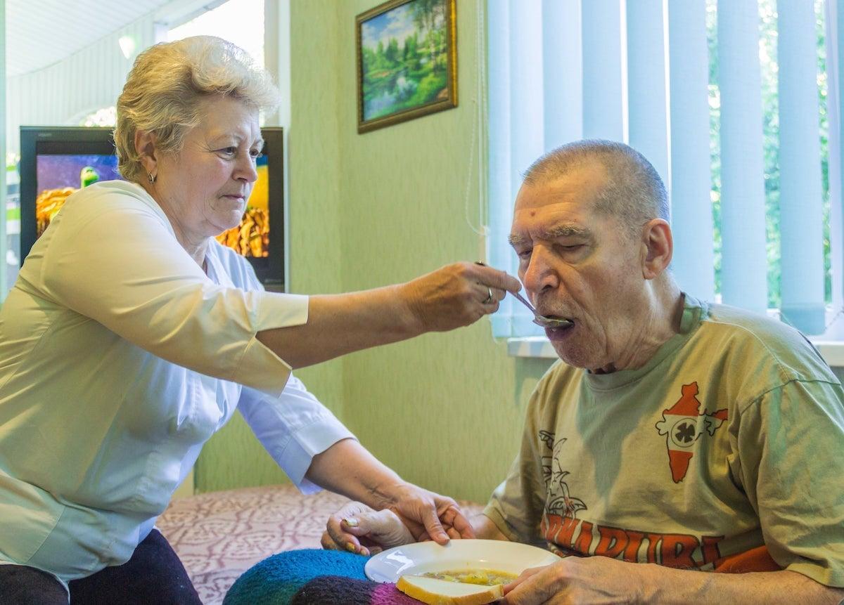 Дом для престарелых с психическими отклонениями
